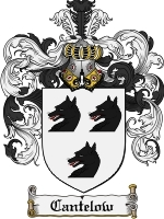 Primary image for Cantelow Family Crest / Coat of Arms JPG or PDF Image Download