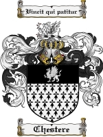 Primary image for Chestere Family Crest / Coat of Arms JPG or PDF Image Download