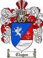 Primary image for Clugen Family Crest / Coat of Arms JPG or PDF Image Download
