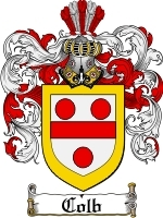 Primary image for Colb Family Crest / Coat of Arms JPG or PDF Image Download