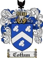 Cottam coat of arms download