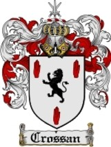 Crossan Family Crest / Coat of Arms JPG or PDF Image Download - $6.99