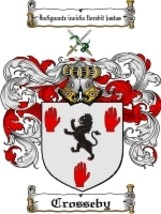 Crosseby Family Crest / Coat of Arms JPG or PDF Image Download - $6.99