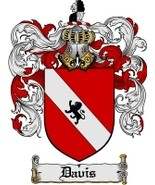 Davis Family Crest / Coat of Arms JPG or PDF Image Download - $6.99