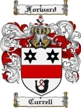 Currell Family Crest / Coat of Arms JPG or PDF Image Download - $6.99