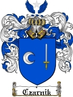 Primary image for Czarnik Family Crest / Coat of Arms JPG or PDF Image Download