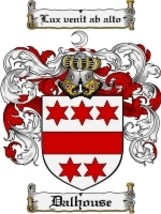 Dalhouse Family Crest / Coat of Arms JPG or PDF Image Download - $6.99