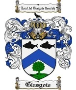 Glasgow Family Crest / Coat of Arms JPG or PDF ... - $6.99