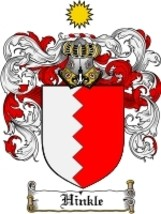 Hinkle Family Crest / Coat of Arms JPG or PDF Image Download - $6.99
