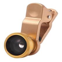 3 In 1 Universal Wide-Angle Macro 180°Fisheye Lens For iPhone iPad - $17.39