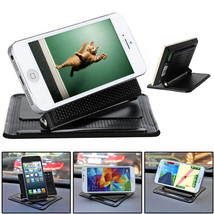 Universal Car Dashboard Mount Holder Non-slip Pad Mat For iPhone - $8.25