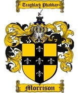 Morrison Family Crest / Coat of Arms JPG or PDF Image Download - $6.99