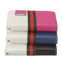 Card Holder Flip Wallet PU Leather Case Cover Purse For iPhone 4 4S - $7.38