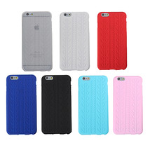 Soft Tire Pattern Silicone Protective Case Cover For iPhone 6 Plus - $6.22