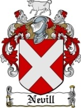 Nevill Family Crest / Coat of Arms JPG or PDF Image Download - $6.99