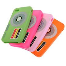 Stylish Digital Camera DC Style Silicone Soft Case Skin for iPhone 4 - $5.95