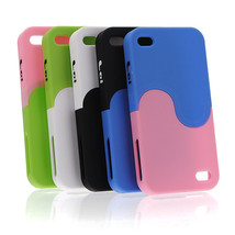 Assemble Removable DIY Multi-color Taichi Case For iPhone 4 4S - $6.84
