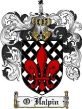 O'Halpin Family Crest / Coat of Arms JPG or PDF Image Download - $6.99