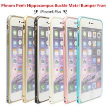 Phnom Penh Hippocampus Buckle Metal Bumper Frame For iPhone 6 Plus - $10.14