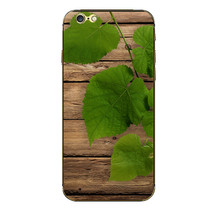 3D Tree Leaf Pattern Full Body Protective Sticker For iPhone 6 - $5.21