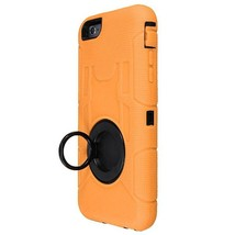 PC+Silicone Hybrid Shockproof Armor Stand Cover For iPhone 6 Plus - $9.70