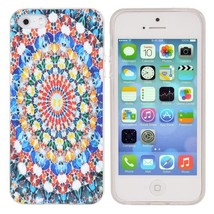 TPU Protection Butterfly Patterns Back Cover Case For iPhone 5 5S - $5.50