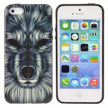 Mobile Shell Monster Head Pattern Cover Case For iPhone 5 5S - $5.50