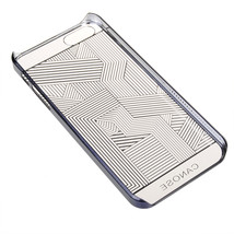 Ultra Thin Vacuum Electroplate Transparent Case For iphone5 5S - $9.99