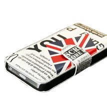 Ultra-thin National Flag Pattern Stand Case For iPhone5 5S - $16.68