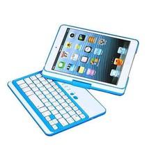 360 Rotating Wireless Bluetooth Keyboard Case For iPad Mini Mini 2 - $53.74