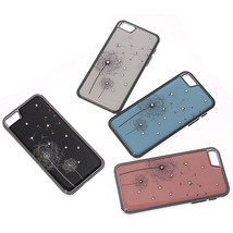 Dandelion Flower Pattern Diamond Hard Back Case For iPhoen 5 5S - $7.95