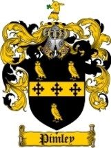 Pimley Family Crest / Coat of Arms JPG or PDF Image Download - $6.99