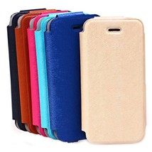 Fashion Mink Grain PU Leather Case Cover For iPhone 5 5S 5C - $10.50