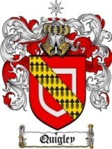 Quigley Family Crest / Coat of Arms JPG or PDF ... - $6.99