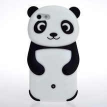 3D Cute Panda Silicone Soft Back Case Cover For iPhone 5 5S - $8.25