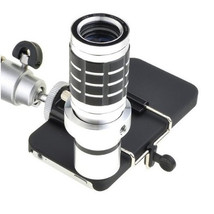 12 x Optical Zoom Telescope Camera Lens with Tripod For iPhone4 4S - €33,09 EUR