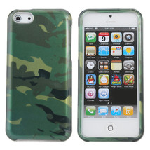 Cool Army Camouflage Pattern Hard Back Case For iPhone 5C - $6.95