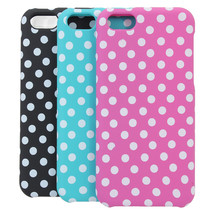 Polka Dot Wave Point Protective Case Cover For iPhone 5C - $7.53