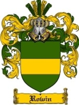 Rowin Family Crest / Coat of Arms JPG or PDF Image Download - $6.99