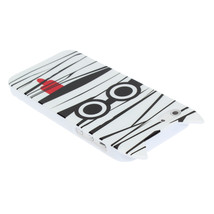 Black White Mummy Car Cartoon Pattern Protective Case For iPhone 5 - $6.74