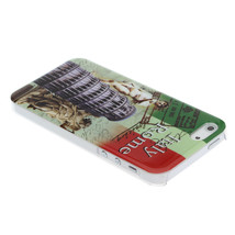 Italy Rome Famous Buildings Pattern Protective Case For iPhone 5 - $5.35