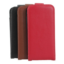 Comfortable Touch Original Flip Leather Case For iPhone 5 5G - $13.49