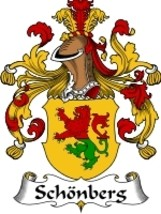 Schonberg Family Crest / Coat of Arms JPG or PD... - $6.99