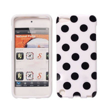 Soft TPU Gel Polka Wave Point Case For iPod Touch 5 Random Shipment - $5.37
