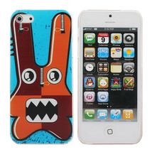Pretty Long Ear Rabbit Pattern Hard Case Cover For iPhone 5 5G - $5.51