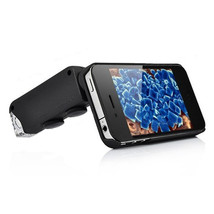 iPhone 4 60X To 100X Magnification Microscope With LED Light Black - $28.06