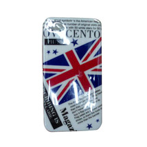 British Flag Design Pattern Hard Case Hard Back Case For iPhone 4 - $5.89