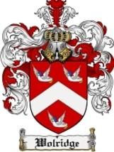 Wolridge Family Crest / Coat of Arms JPG or PDF Image Download - $6.99