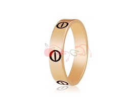 Rigant Simple & Stunning Environmental Protection Ring Sz 9 (Golden) - $5.74