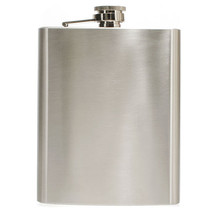 Hip Liquor Alcohol Flask 18 oz With Stainless Steel Screw Cap - $14.85